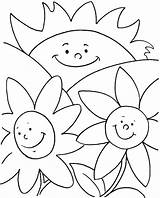 Coloring Summer Pages Jumbo Flowers Happy Simple Print Sun Printable Holiday Jet Flower Children Painting Party Cute Disney Site Great sketch template