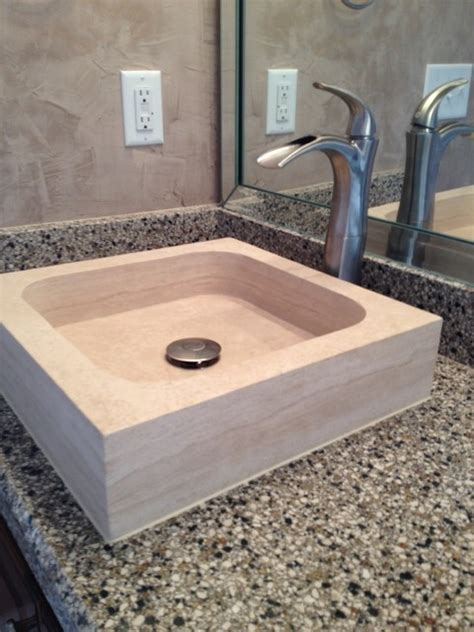 Classic Bathroom Sinks by Classic Vessel Sink Square