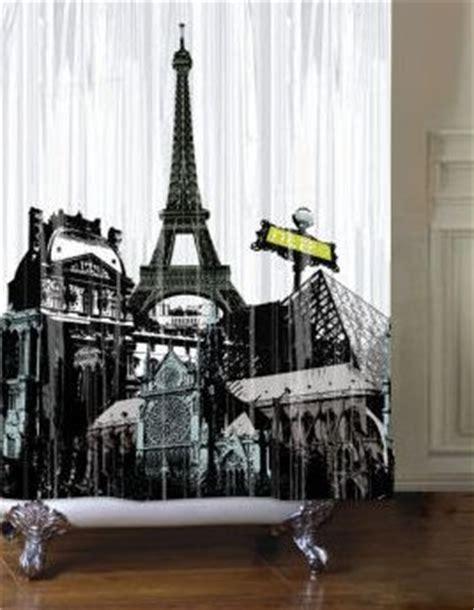 shower curtains  walmart  paris themed bathrooms