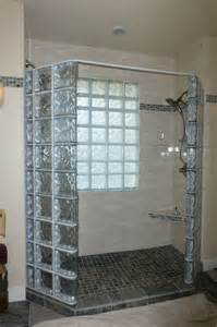 glass block designs for bathrooms how to create a luxury glass block shower with a frameless glass door