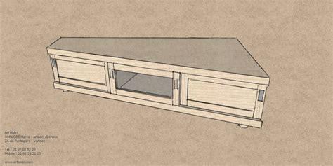 meuble de bureau pas cher meuble tv d 39 angle 39 ébènart 39 ébèn