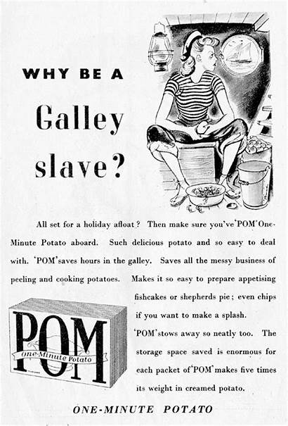 Pom Advert Mash 1949 Potato Minute