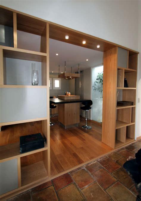 separation cuisine bibliothèque séparation cuisine salle à manger à