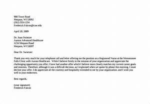 Salary Counter Offer Letter Example Counter Offer Letter Sample Template Business