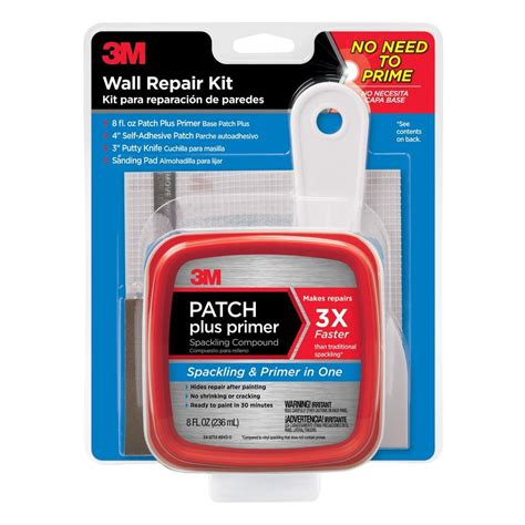 3m Large Hole Wall Repair Kit At Home Depot  Insured By Ross