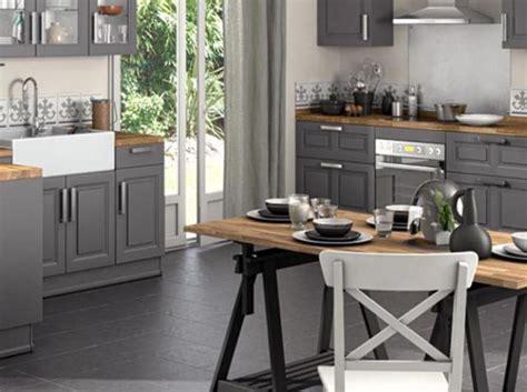 cuisine avec table treteau lapeyre idees pour la maison