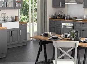 Nos idees decoration pour la cuisine elle decoration for Idee deco cuisine avec meuble salle a manger contemporain