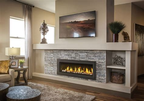 linear gas fireplace napoleon vector lv50n2 see thru direct vent linear gas