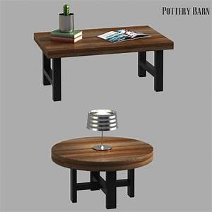 griffin reclaimed wood coffee table by erkin aliyev 3docean With griffin reclaimed wood coffee table