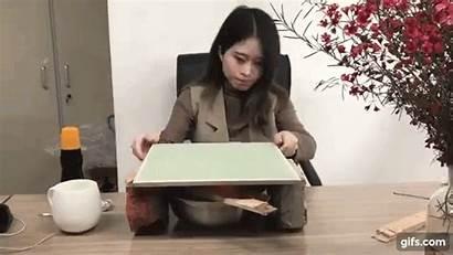 Desk Office Items Employee Creative Around Homemade