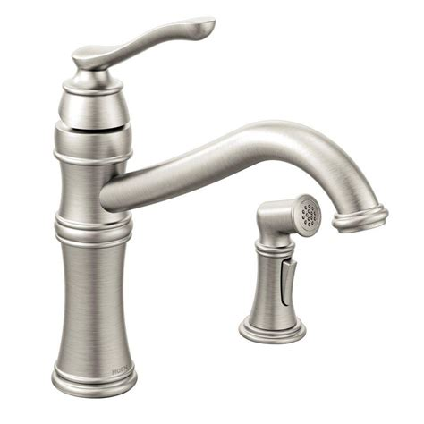 standard kitchen faucet moen arbor high arc single handle standard kitchen faucet
