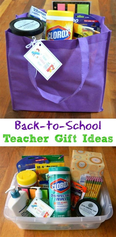 list of gifts to school children back to school gift ideas for teachers