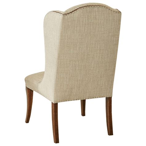 furniture archivist upholstered host chair with