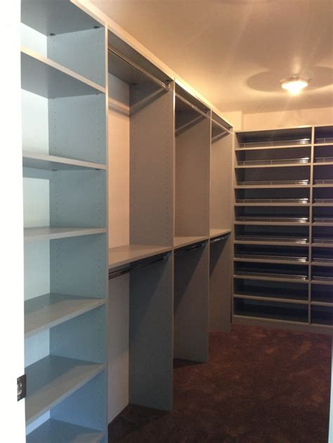 walk  closets adjustable closet cabinets