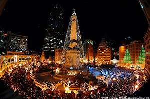 Christmas lights http indianapolis indianafuncityfinder for Tree lighting indianapolis