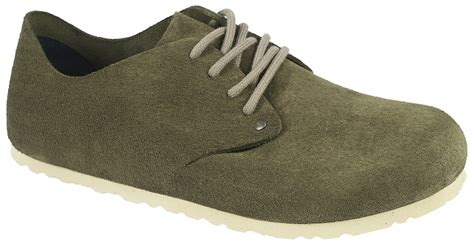 birkenstock maine womens mens casual suede lace  shoe