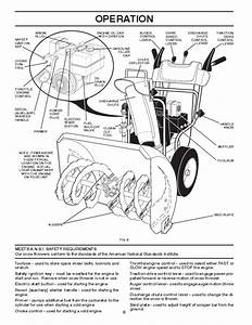 Poulan Pro Pr5524es 415136 Snow Blower Owners Manual  2007