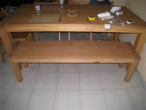 Table Avec Banc by Table Banc
