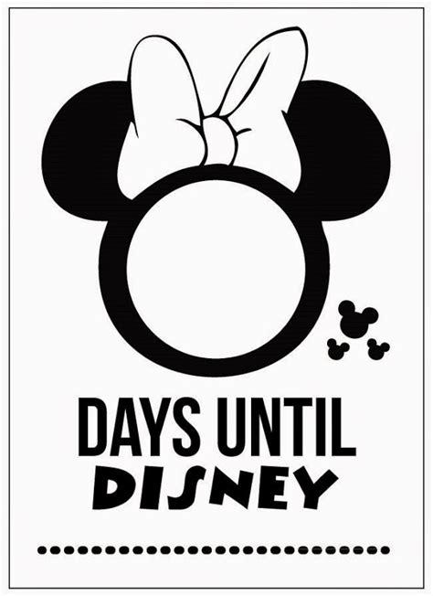 fun printable disney countdown calendars
