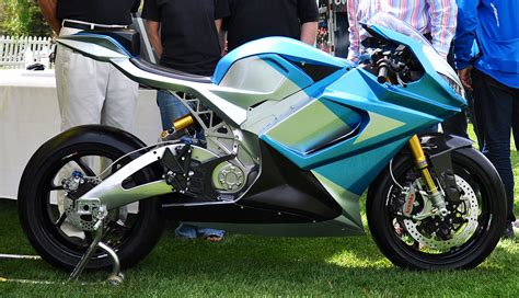 World's Fastest Electric Motorcycle Breaks Cover