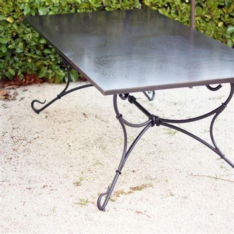 siege social mobile table en fer forgé modèle extérieur fabrication