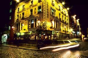 Pubs Dublin Ireland at Night