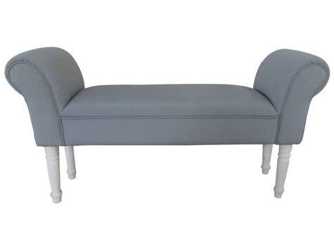 pouf bout de canapé bout de lit 103x51x31 cm wood coloris gris vente de pouf