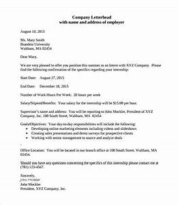 Sample Offer Letter Templates  11+ Free , Examples , Format