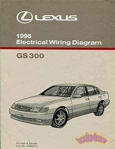 Gs300 1996 Lexus Shop Manual Electrical Wiring Diagram
