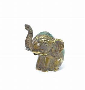 Elephant Porte Bonheur : statuette l phant trompe en l 39 air porte bonheur en bronze v ritable ~ Melissatoandfro.com Idées de Décoration