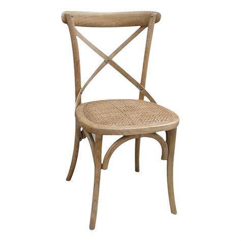 chaise bistrot bois pas cher chaise bistrot naturelle lot de 2 achat vente chaise rotin bois les soldes sur