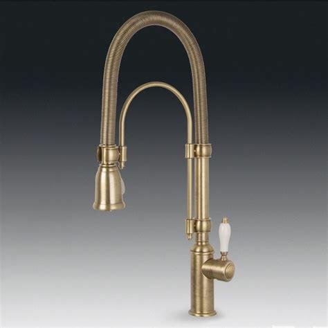 rubinetti cucina ottone smeg midr7o 2 miscelatore monocomando con doccetta