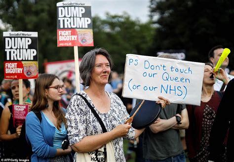 London Protest Anti Trump
