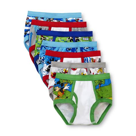 disney toddler boy s mickey mouse briefs 7 pack shop