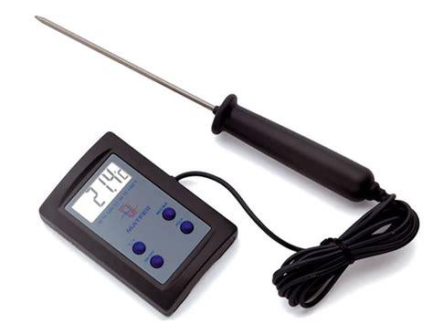 sonde pour cuisine thermomètre de cuisson sonde électronique matfer 50 c à