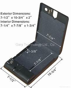 portable biometric fingerprint car gun document safe box With portable document safe