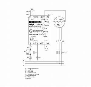 Ptc-thermistor-relay Type Msr220va