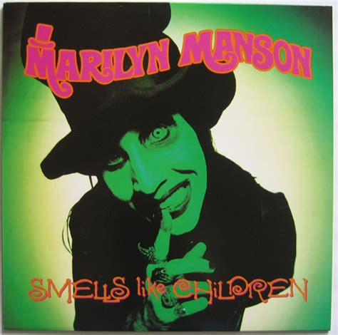 marilyn manson smells  children vinyl lp ep