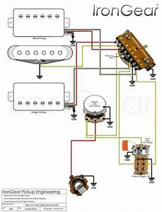 1 Humbucker 1 Volume 1 Tone Wiring Diagram