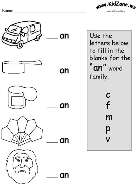 word families l a reading levels pinterest word