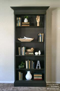 Bookcases For Cheap by Diy Upgrade A Cheap Pre Fab Bookcase By Replacing The