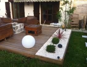 amenagement d39une terrasse brasero instructions With amenagement terrasse piscine exterieure 7 objet deco jardin jardideco fr