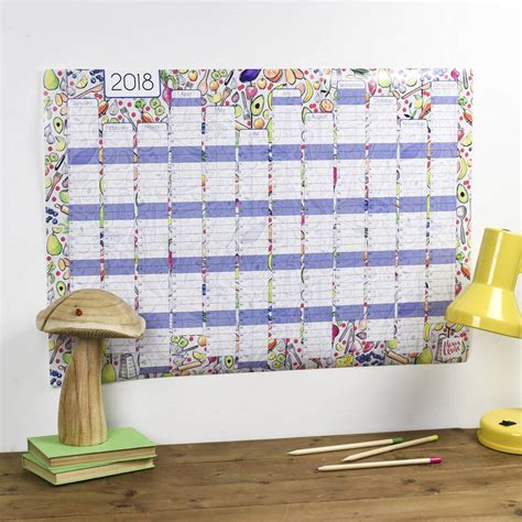 kitchen calendar organizer reduced 2018 kitchen wall calendar and year planner by 3307