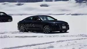 A7 In Snow With Summer Tires YouTube