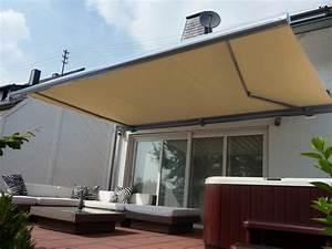 elektrische kassettenmarkise 400 x 300 cm grau gelenkarm With markise balkon mit tapete braun beige