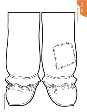 scarecrow legs pattern activities printable lesson