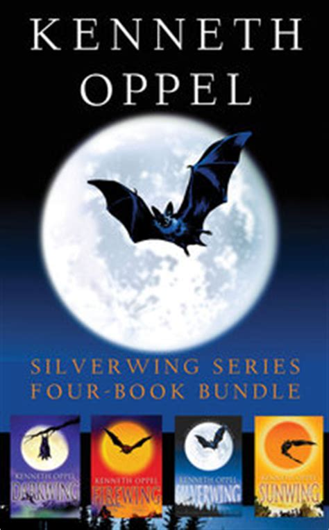 A Bundle Of 5 Book Series by Kenneth Oppel Silverwing Series Four Book Bundle Perma