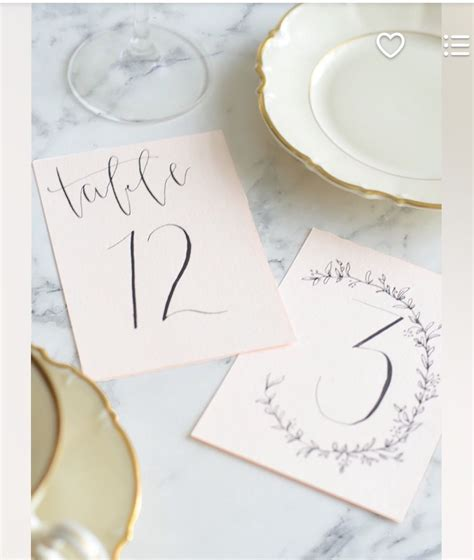 pin  enid martinez  lettering place card holders