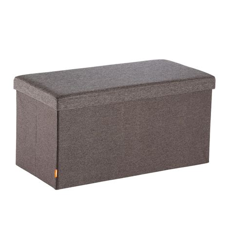 box bench charcoal poppin box bench the container store
