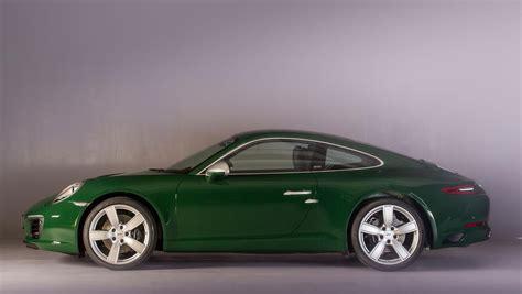 green porsche 911 irish green porsche 911 carrera s is the one millionth 911